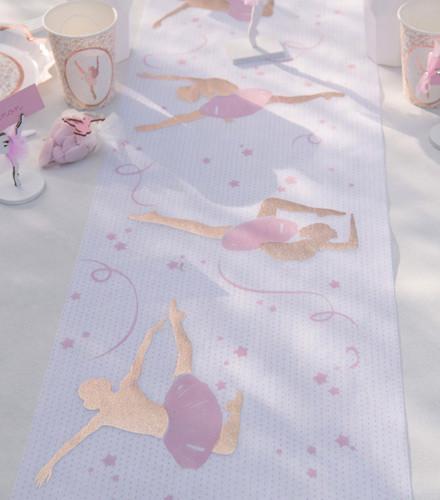 Chemin de table ballerine tissu non tissé