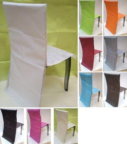 10 housses de chaises (0,70 € pièce)