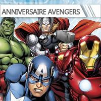 Décoration Anniversaire Avengers