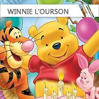 Déco anniversaire Winnie l'Ourson
