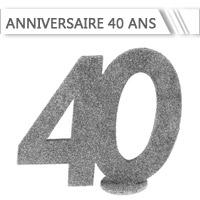 Décoration Anniversaire 40 ans
