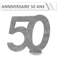 Décoration Anniversaire 50 ans