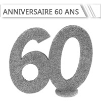 Décoration Anniversaire 60 ans