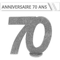 Décoration Anniversaire 70 ans