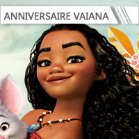 Déco anniversaire Vaiana