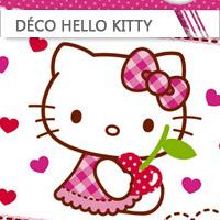 Déco Anniversaire Hello Kitty