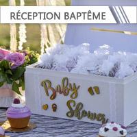 Accessoires Réception Baptême