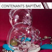 Contenants Dragées Baptême