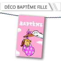 Décoration Baptême Fille