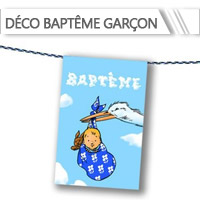 Décoration Baptême Garçon