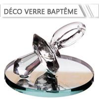Décoration de Verre Baptême