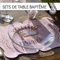 Sets de Table Baptême