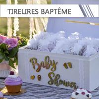 Urnes & Tirelires Baptême