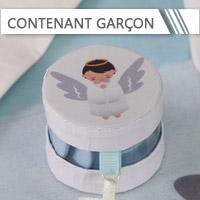 Contenant Dragées Communion Garçon