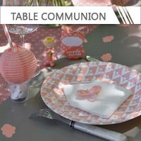 Décoration Table Communion