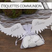 Etiquettes Dragées Communion