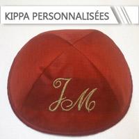 Kippa personnalisées