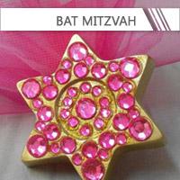 Contenants + Dragées Bat Mitzvah personnalisés