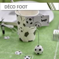 Décoration Foot