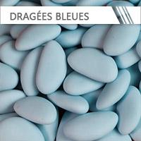 dragees bleu