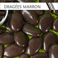 dragees marron