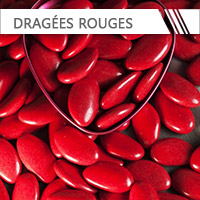 dragees rouge