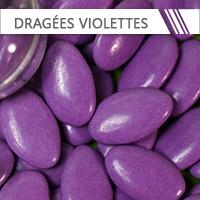 dragees violet