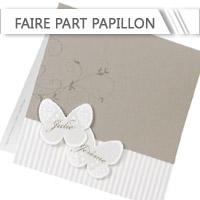 Faire Part Mariage Papillon