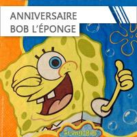 Anniversaire Bob l'Eponge