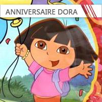 Anniversaire Dora