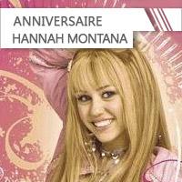Anniversaire Hannah Montana
