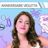 Anniversaire Violetta