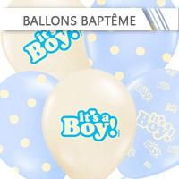 Ballons Baptême