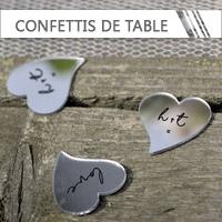 Confettis de Table Mariage