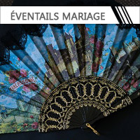 Eventails Mariage