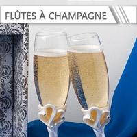 Flûtes à Champagne de Mariage