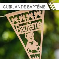 Guirlandes Baptême