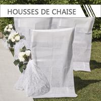 Houses de chaise Mariage