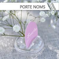 Porte-Nom & Marque-Place