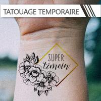 Tatouages temporaires Mariage